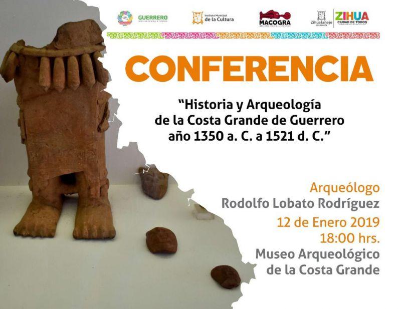 Historia y Arqueología de la Costa Grande de Guerrero año 1350 a. C. a 1521 d. C.
