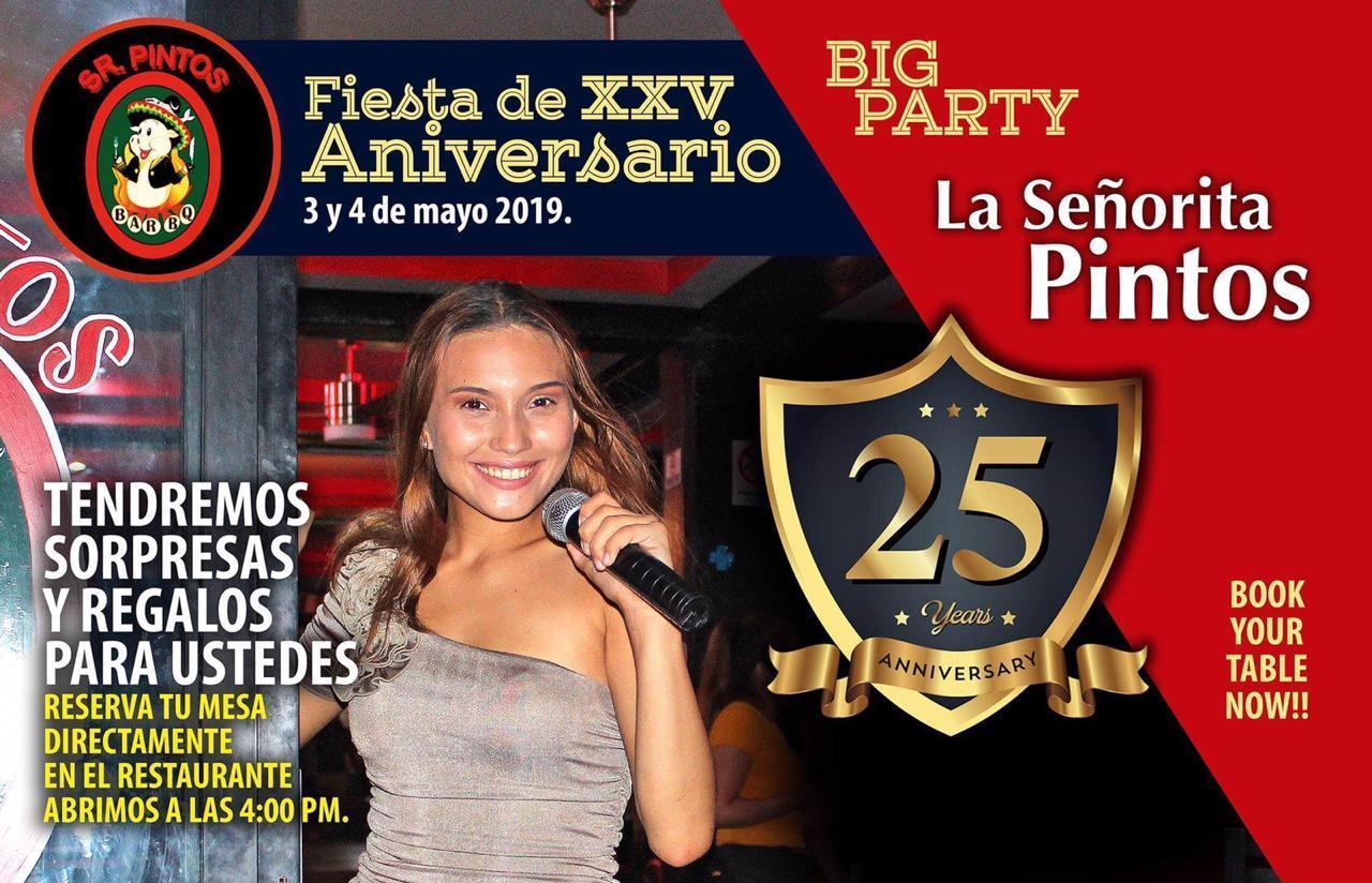 25 Aniversario Sr. Pintos