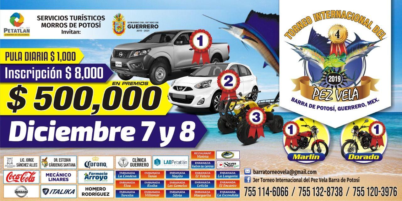 4to Torneo Internacional Del Pez Vela Barra de Potosí 2019
