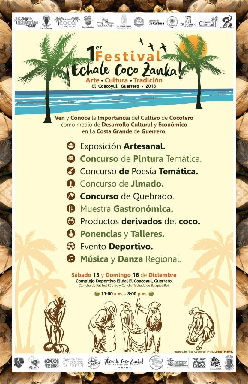 1er Festival Échale Coco Zanka