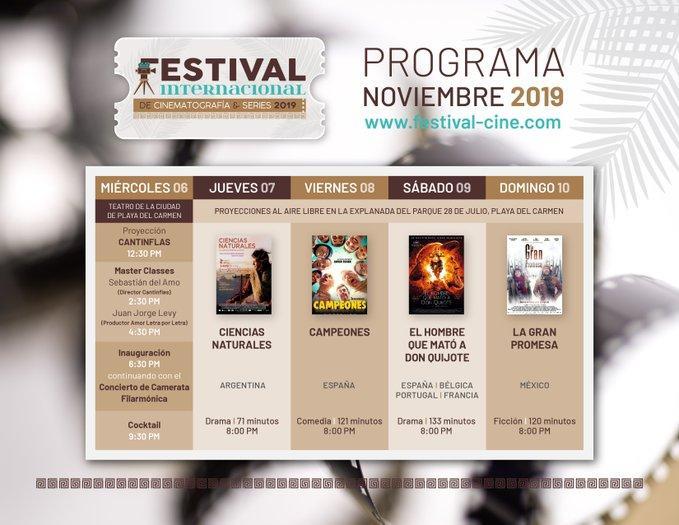Festival Internacional de Cinematografía y Series 2019