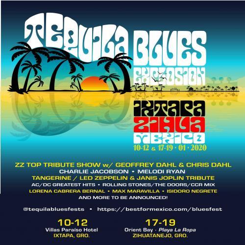 Tequila Blues Explosion Ixtapa Zihua 2020
